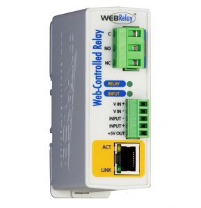 ControlByWeb X-300-E POE Advanced WebEnabled Temperature Monitoring /& Thermostat